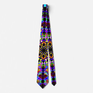 Colorful Mosaic Tie
