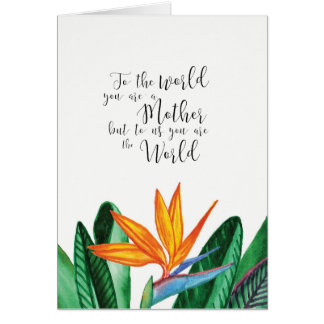 colorful mothers day card by Ozias