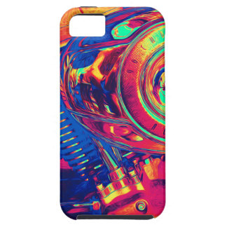Colorful Motorcycle Engine iPhone 5 Covers