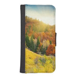Colorful mountain autumn landscape