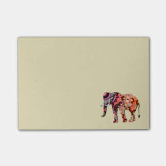 Colorful Multicolored Elephant Post-it® Notes