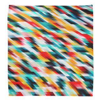 Colorful Multicolored Pattern Bandana