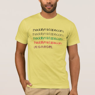 Colorful Multiple Mixtapes T-Shirt