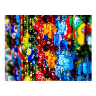 Colorful Murano Postcard