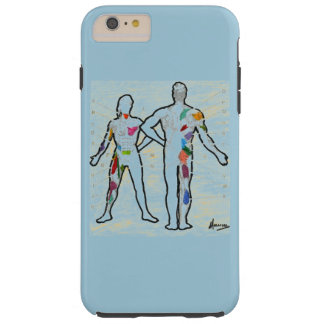 Colorful muscles chart anatomy iphone 6 case