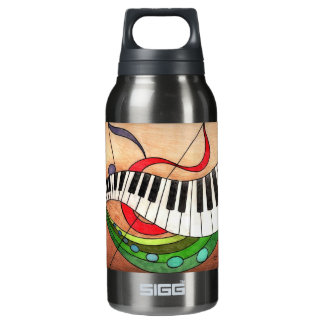 Colorful Music Insulated Water Bottle
