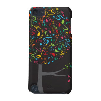 Colorful Music Musical Notes Song Singing Pop Tree iPod Touch 5G Case
