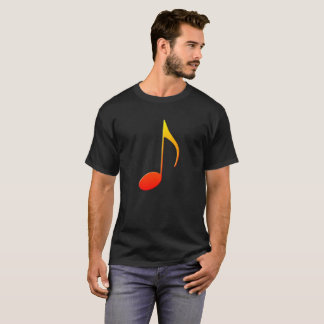 Colorful Music Note T-Shirt