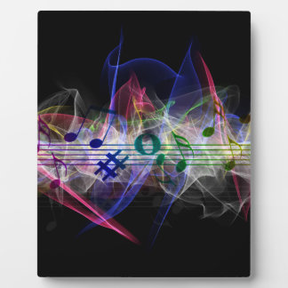 Colorful Music Style Plaques