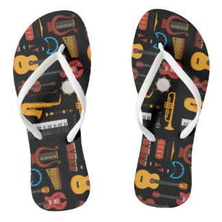 Colorful musical instruments Flipflop