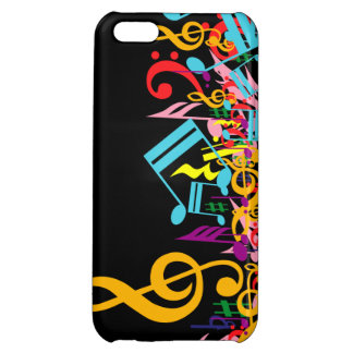 Colorful Musical Notes iPhone 5C Covers