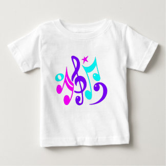 Colorful Musical Notes Shirt