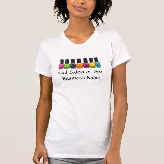Colorful Nail Polish Bottles, Nail Salon T Shirt