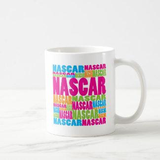 Colorful NASCAR Coffee Mugs