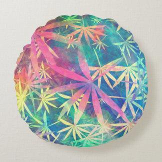 Colorful Nature 01 Round Cushion