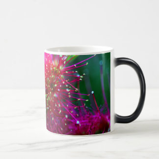 Colorful Nature Floral Hot Pink Neon Green Flowers Magic Mug