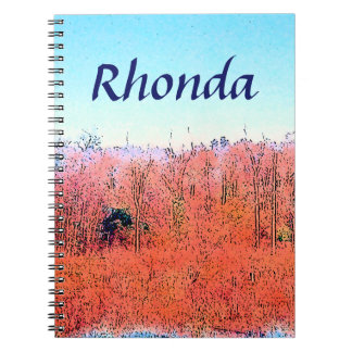 Colorful Nature Notebooks