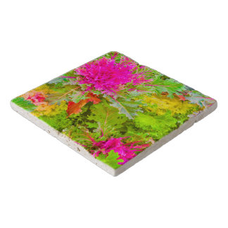 Colorful Nature Print Photo Trivet