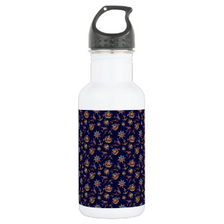 Colorful nautical pattern custom background 532 ml water bottle