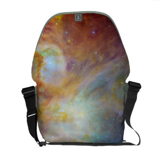 Colorful Nebula Rickshaw Messenger Bag