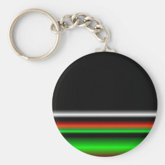 Colorful Neon Background Images Key Ring