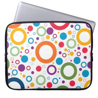 Colorful Neoprene Laptop Sleeve 15 inch