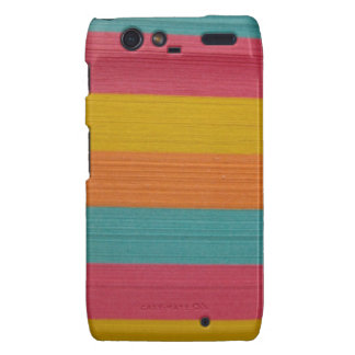 colorful notes office supplies post it texture motorola droid RAZR cases