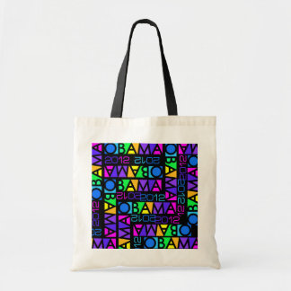 Colorful Obama 2012 bag - choose style, color