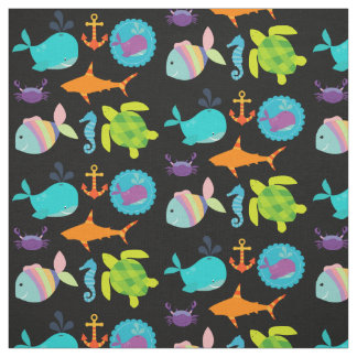 Colorful Ocean Fabric