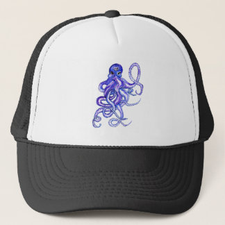 Colorful Octopus Art Trucker Hat