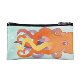 Colorful Octopus Makeup Bag