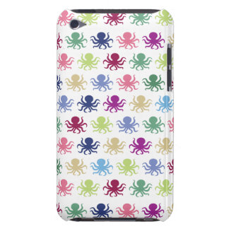Colorful octopus pattern barely there iPod case