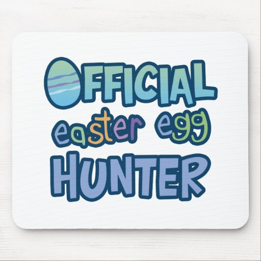 Colorful Official Easter Egg Hunter Mousepads