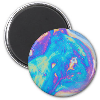 Colorful oil patterns, Canada Magnet