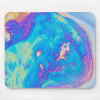 Colorful oil patterns, Canada Mouse Pad