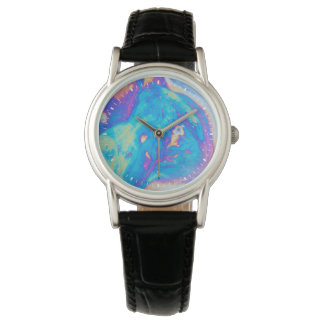Colorful oil patterns, Canada Wrist Watches