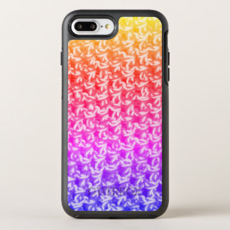 Colorful Ombre Crochet Knit OtterBox Symmetry iPhone 7 Plus Case