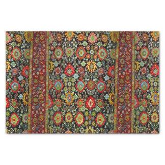 "Colorful Oriental Rug design 10"" X 15"" Tissue Paper"