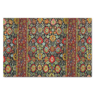 Colorful Oriental Rug design Tissue Paper