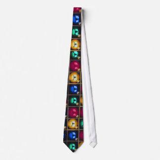 Colorful Ornaments In A Box Tie