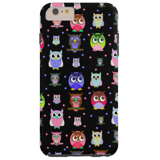 Colorful Owls iPhone 6 Plus case