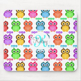 Colorful Own Monogram Mouse Pad