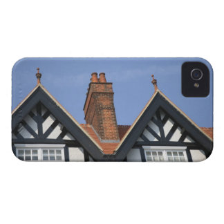 Colorful Oxford gabled houses, Oxford, England. Blackberry Case