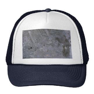 Colorful Oxidized Silver Leaf Trucker Hat
