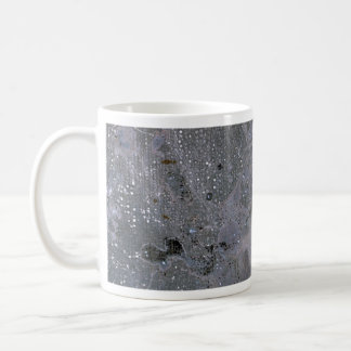 Colorful Oxidized Silver Leaf Coffee Mugs