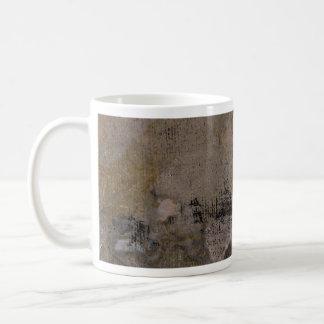 Colorful Oxidized Silver Leaf Mug