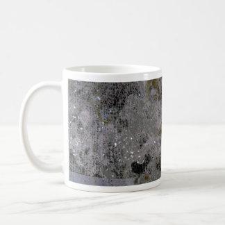 Colorful Oxidized Silver Leaf Mugs