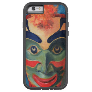 Colorful Pacific Northwest Indian Mask. Very Cool Tough Xtreme iPhone 6 Case