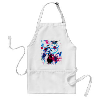 Colorful Paint Drips 12 Standard Apron