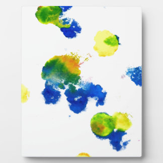 Colorful Paint Drips 6 Display Plaques